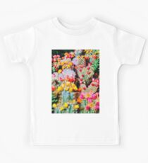 RAINBOW CACTUS CLUSTER PATTERN Kids Clothes