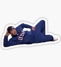 Jimmy Fallon Pose Sticker
