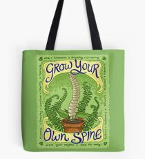 Grow Your Own Spine Tote Bag