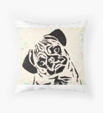 pug 18 Throw Pillow