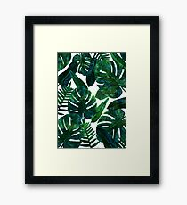 Perceptive Dream || #Redbubble #tropical #buyart Framed Print