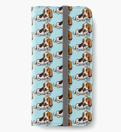 Basset Hound iPhone Wallet