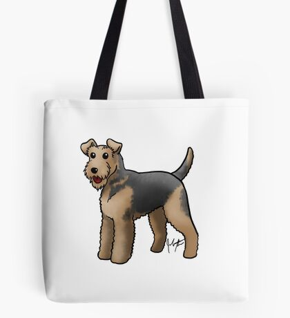 Airedale  Tote Bag
