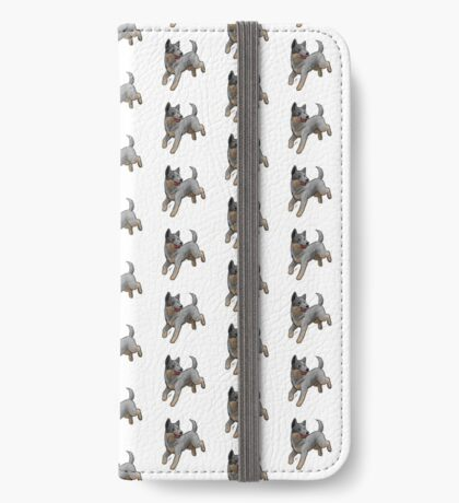 Australian Cattle Dog/ Blue Heeler iPhone Wallet