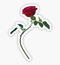 rose from beauty and the beast / la Bella y la Bestia Sticker