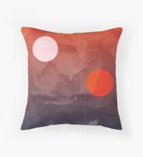 Star Wars Eine neue Hoffnung inspirierte Kunstwerk zwei Sonnen Kissen