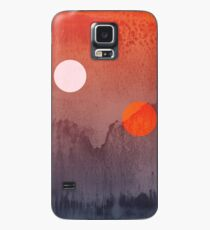 Star Wars A New Hope inspired artwork two suns Case/Skin for Samsung Galaxy