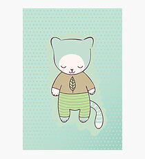 mint kitten Photographic Print