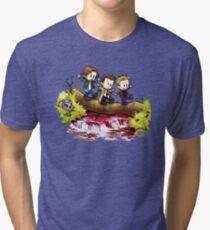 Team Free Will Goes Exploring Tri-blend T-Shirt