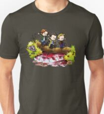 Team Free Will Goes Exploring Unisex T-Shirt
