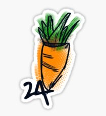 24 CARROT  Sticker