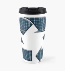 Solar recycling Travel Mug