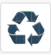 Solar recycling Sticker