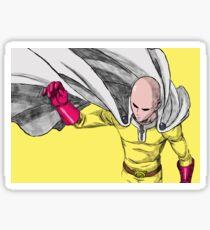 One Punch Man Pop Art Sticker
