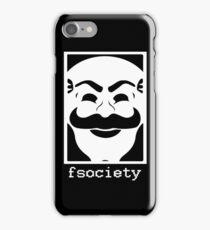 Fsocietymask#2 iPhone Case/Skin