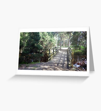 Bridge of Shadows Greeting Card