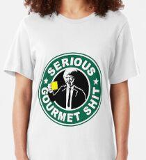 Camiseta ajustada Seria mierda gourmet