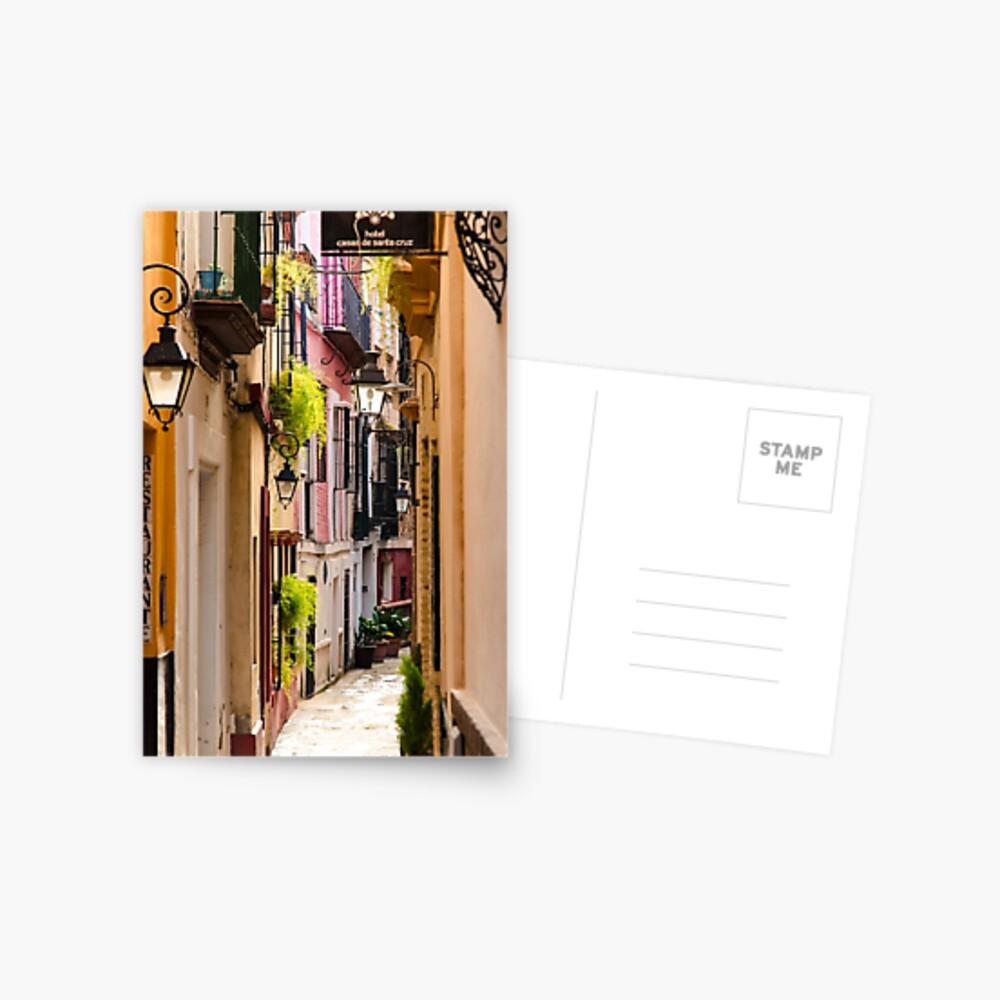 Calles de Sevilla Postal