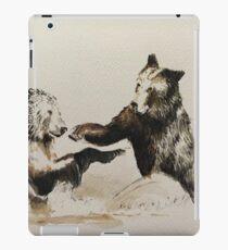 Bear Fight iPad Case/Skin