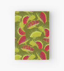 Venus Flytrap or Dionaea muscipula. Hardcover Journal
