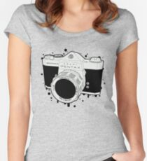 SPOTMATIC Women's Fitted Scoop T-Shirt