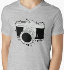SPOTMATIC Men's V-Neck T-Shirt