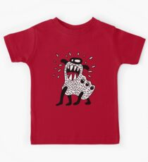 Cool Monster Illustration Kids Tee