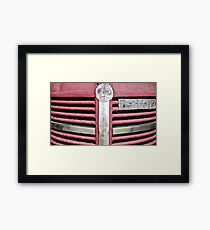 Red Grill (Bedford Truck) Framed Print