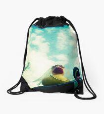 Wedding ducks Drawstring Bag
