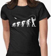 Evolution Fisherman Women's Fitted T-Shirt