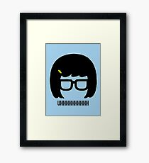 Tina Uhhhhh Framed Print