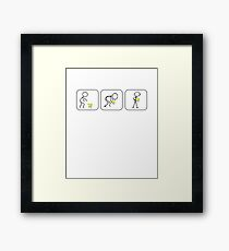How To Pick Up Chicks novelty gag gift gift idea mens very funny guy T Shirts Framed Print