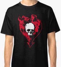 Heart and Skull Classic T-Shirt