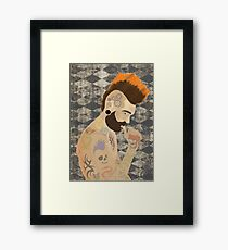 Punk Colour  Framed Print
