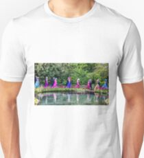 Flora day dancers in Helston Cornwall T-Shirt