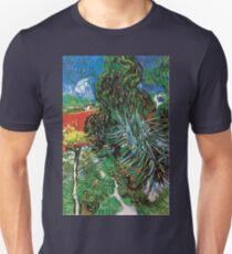 Vincent van Gogh The Garden of Dr. Gachet in Auvers Unisex T-Shirt