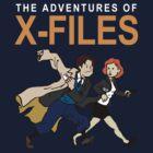 Tin Tin X-Files by UnionTee