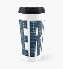 Energy solar panels photo Travel Mug