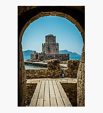 Fortress Methoni in Greece Photographic Print