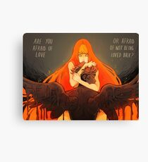 Love and Fear Canvas Print