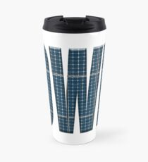 Power word solar panels Travel Mug