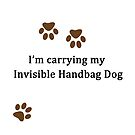 Invisible Handbag Dog by CreativeEm