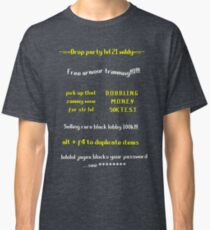 Runescape scam school Classic T-Shirt