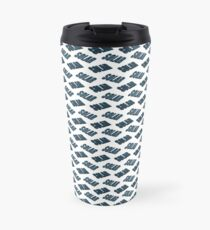 3d solar panel pattern.  Travel Mug