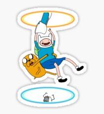 Portal Time! Sticker