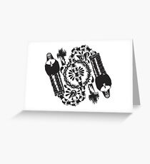 Nun-Chucks Greeting Card