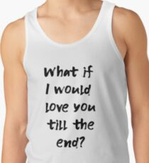 Tokio Hotel, What if (black font) Tank Top