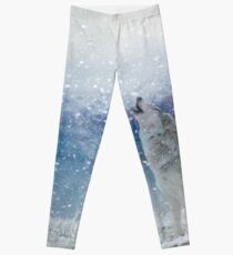Wolves In The Snow Leggings