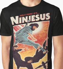 The Jesus Ninja Graphic T-Shirt