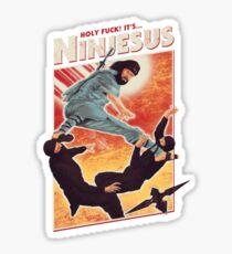 The Jesus Ninja Sticker